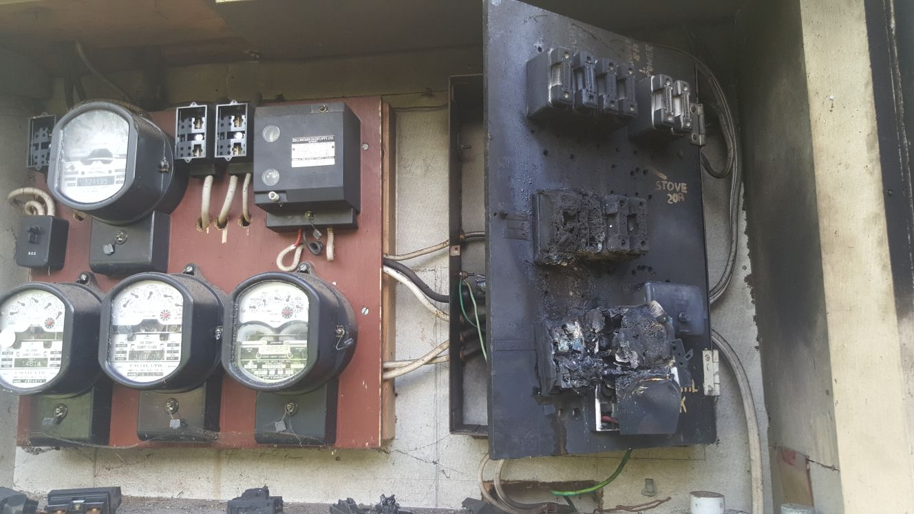 Old Switchboards Catching On Fire Powerlink Electrical Wiring Fires